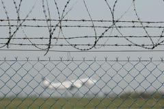 Système de sécurité dans les aéroports Images libres de droits