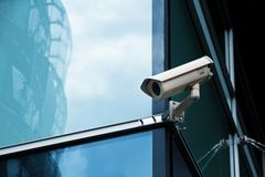 Système de sécurité de bureau d'appareil-photo de télévision en circuit fermé photo libre de droits