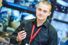 Système de sécurité visuel de surveillance de surveillance Image stock