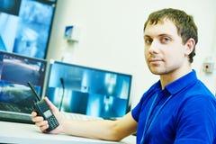 Système de sécurité visuel de surveillance de surveillance Photo libre de droits