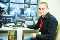 Système de sécurité visuel de surveillance de surveillance Photographie stock libre de droits
