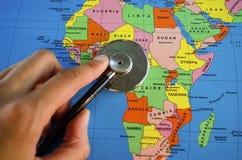 Système de santé de l'Afrique Images stock