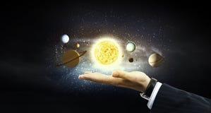 Système de Sun Images libres de droits