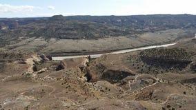 Système de traînée de Fruita le Colorado Photo libre de droits