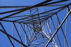 Système de transmission de l'électricité Images libres de droits
