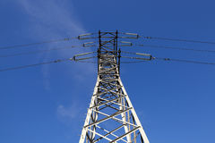 Système de transmission de l'électricité Image stock