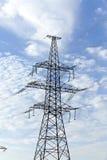 Système de transmission de l'électricité Image libre de droits