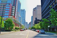 Système de transport de Vancouver Photo libre de droits