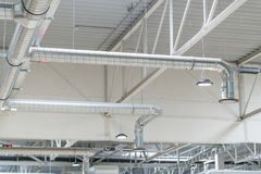 Système de ventilation Images libres de droits