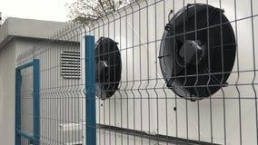 Système de ventilation de construction la CAHT banque de vidéos