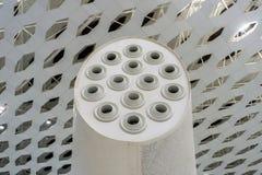 Système de ventilation d'aéroport 2 image stock