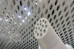 Système de ventilation d'aéroport photos stock