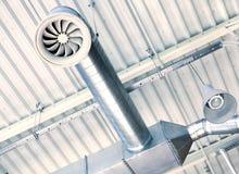 Système de ventilation Images stock