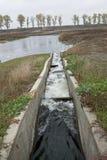 Système de ventilation de l'eau Photographie stock