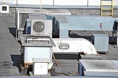 Système de ventilation industriel Photo stock