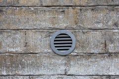 Système de ventilation sur le mur Image stock