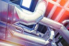 Système des pipes de aération Image stock