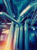 Système des pipes de aération Photo stock