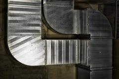 Système des tuyaux de aération Photographie stock