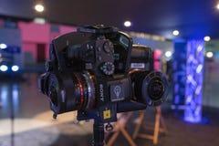 Système du Multi-appareil-photo 360 VR Photographie stock libre de droits