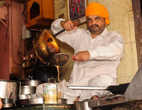 Système indien de thé Photographie stock