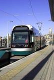 Système moderne de tramway Images libres de droits