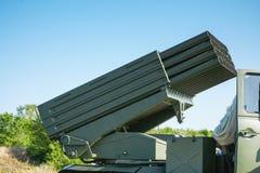 Système multiple de fusée de lancement photo libre de droits