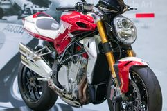 Système mv Agusta Brutale Corsa Photo stock