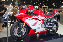 Système mv Agusta F4 Photographie stock