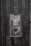 Système principal électronique de porte de vintage Photographie stock