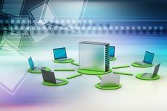 Système sans fil de mise en réseau Photographie stock