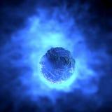 Système solaire d'orbite de l'espace de glace de comète Photo stock