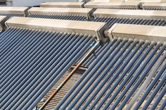 Système solaire 3 de chauffe-eau Image stock