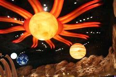 Système solaire Disney Photo libre de droits