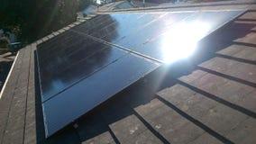 Système solaire parfait Images stock