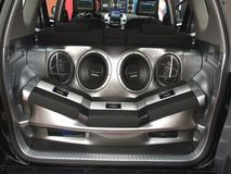 Système sonore de véhicule photo stock