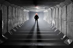 Système souterrain sous la ville Images stock