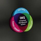 Systèmes de gestion intégrés Images stock
