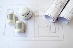 Systèmes de sécurité de planification images stock
