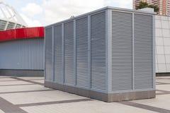 Systèmes industriels de climatisation et de ventilation Système de ventilation d'usine La CAHT comme climatisation de aération de Images libres de droits