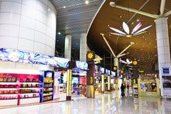 Systèmes libres d'impôts d'aéroport de KLIA Photos stock