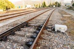 Systeem II van de spoorwegafleidingsactie Royalty-vrije Stock Fotografie