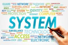 system Lizenzfreies Stockbild