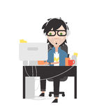 System administrator Stock Image