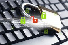 System Bezpieczeństwa Zdjęcie Stock