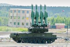 System Bouck M2 för yt-luft- missil Arkivbild