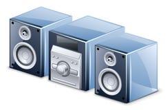 system dźwiękowy Royalty Ilustracja