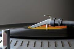 System dźwiękowy i winyl Zdjęcie Stock