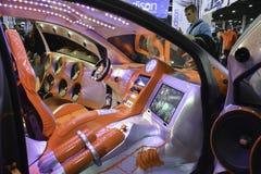 System dźwiękowy nastrajający samochód Obraz Stock