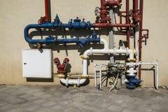 System dostawa wody Fotografia Stock